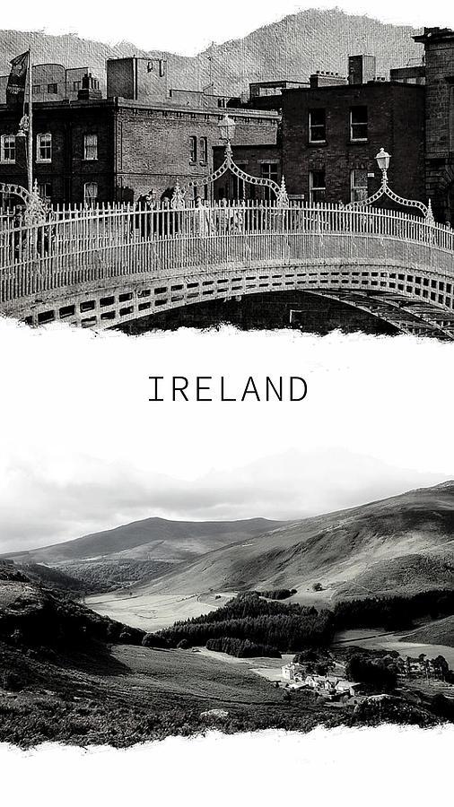 Ireland Poster by Jenny Rainbow