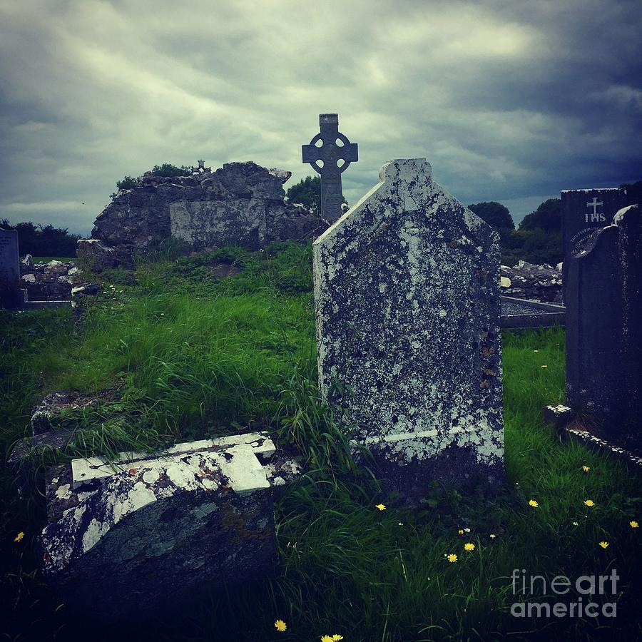 Irish Graveyard  by Suzanne Lorenz