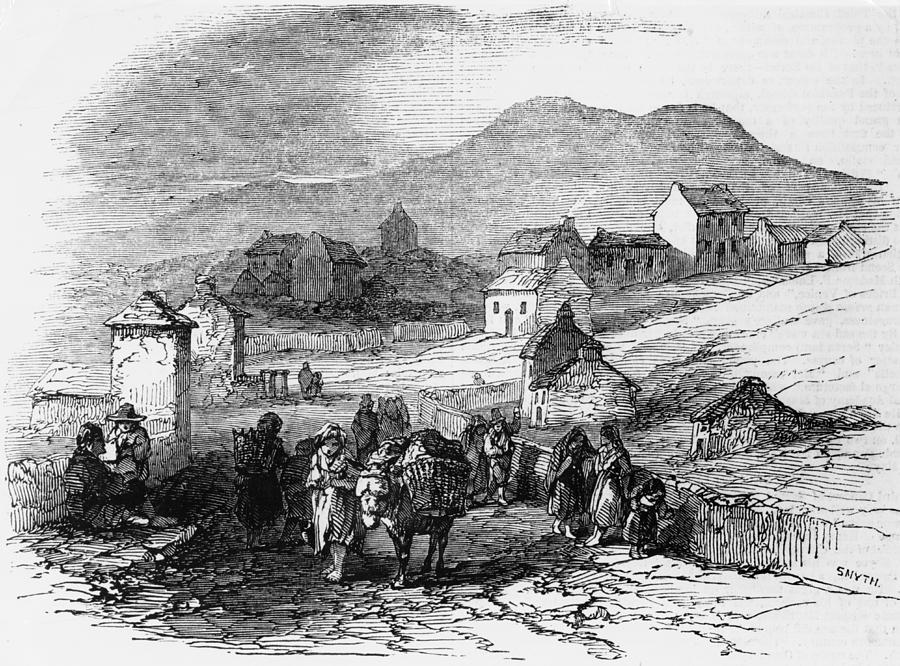 Irish Potato Famine Photograph by Illustrated London News