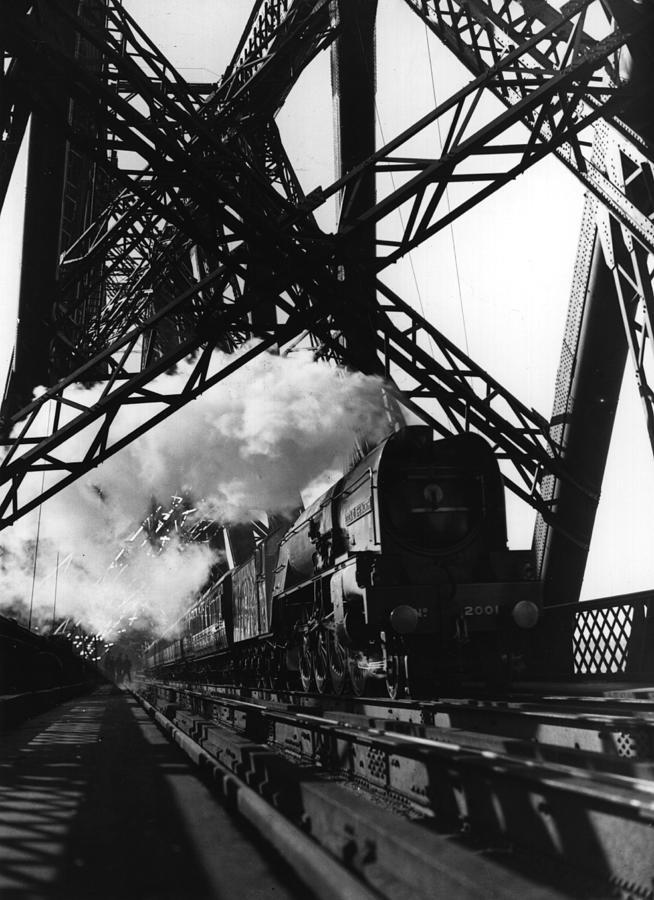 Iron Road Photograph by Fox Photos
