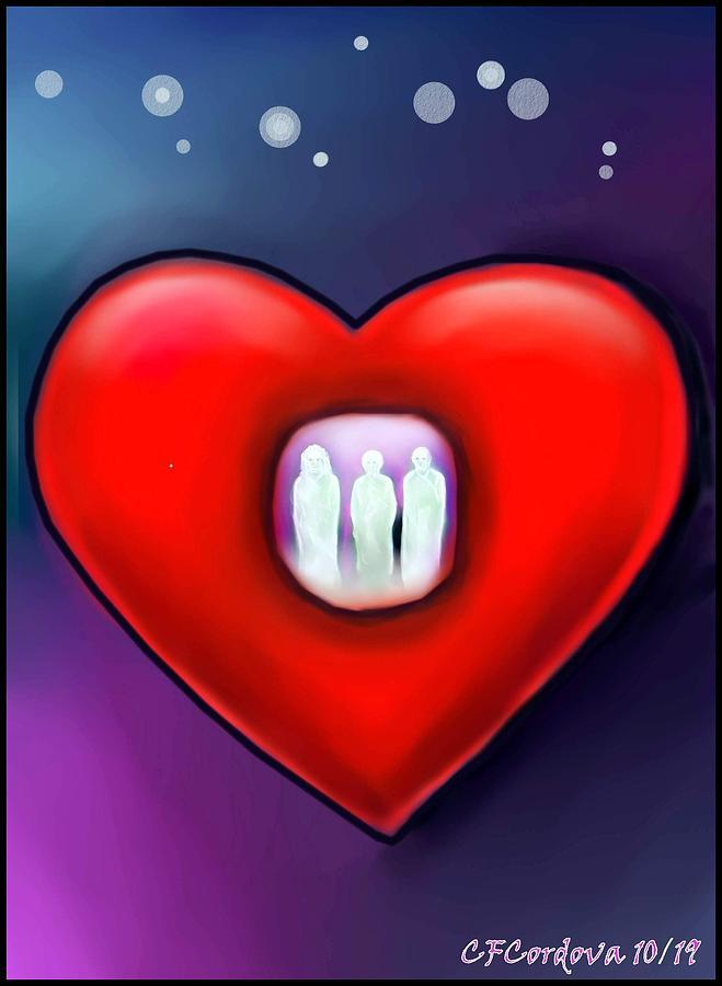 Is spirit inside your heart? by Carmen Cordova