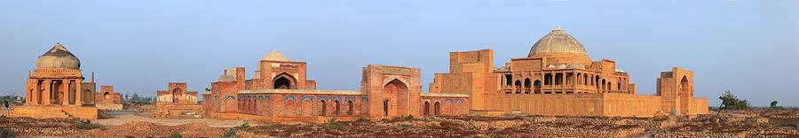 Isa Khan Tombs Of Makli Photograph by Nadeem Khawar