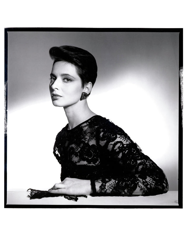 Isabella Rossellini Photograph by Horst P Horst