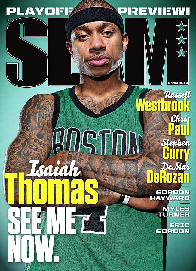 Isiah Thomas Photograph - Isaiah Thomas: See Me Now SLAM Cover by Atiba Jefferson