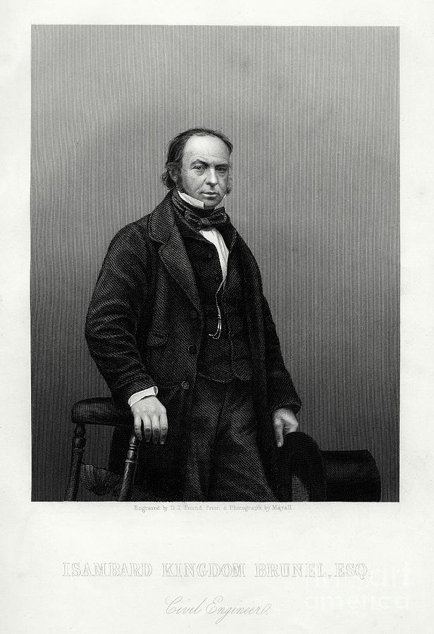Isambard Kingdom Brunel, British Drawing by Print Collector