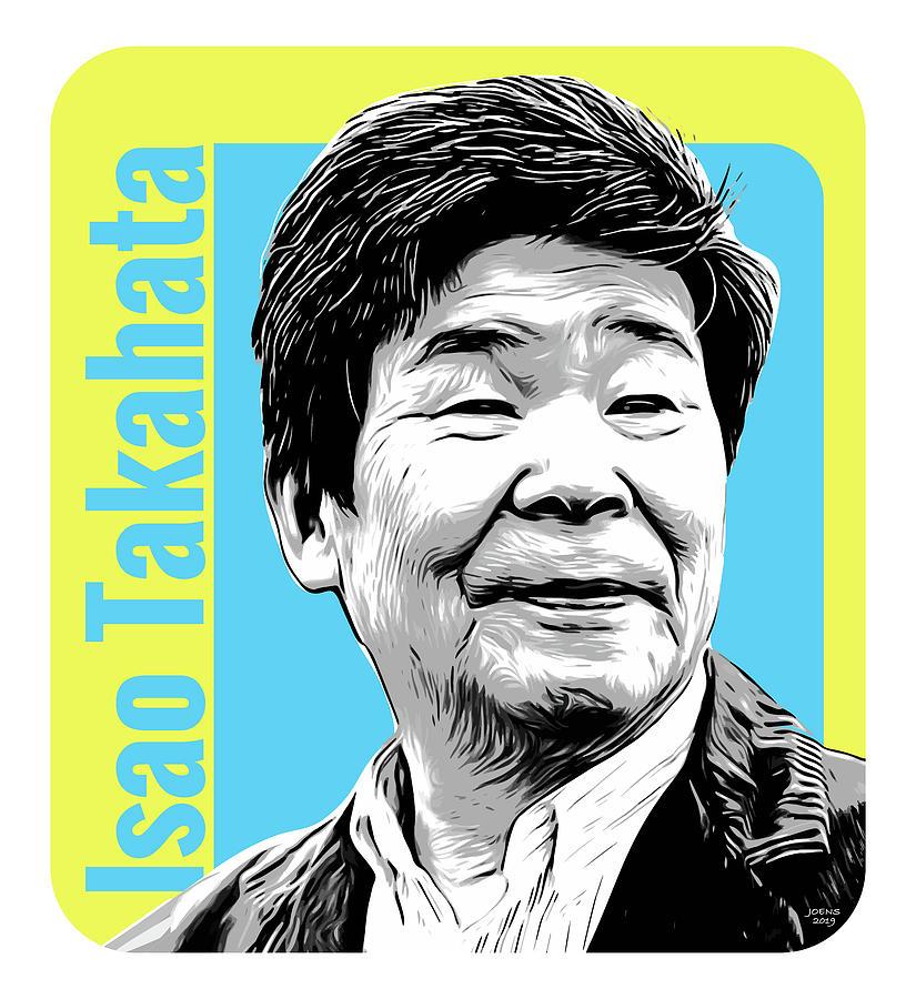 Isao Takahata Tribute Digital Art