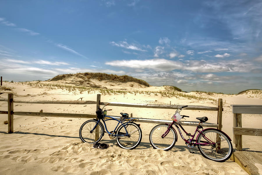 Island Beach State Park In New Jersey Beach Scenic Series I Photograph