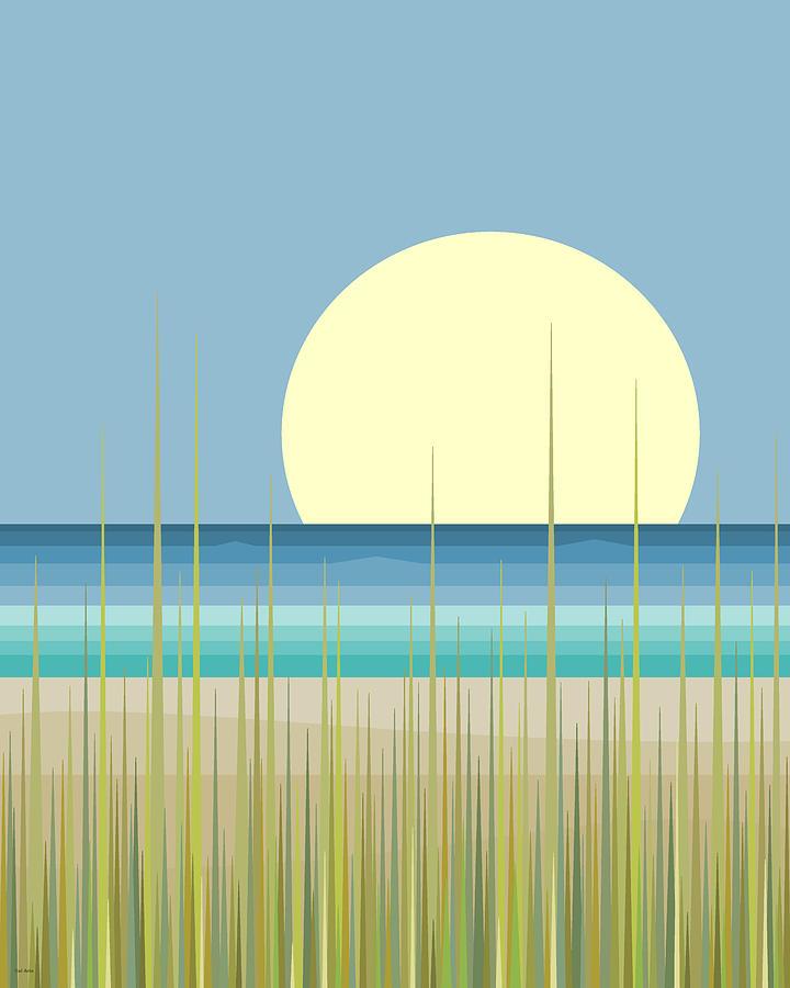 Island Beach by Val Arie