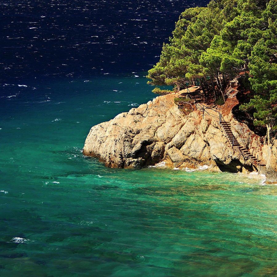 Island In The Adriatic Photograph by Tozofoto