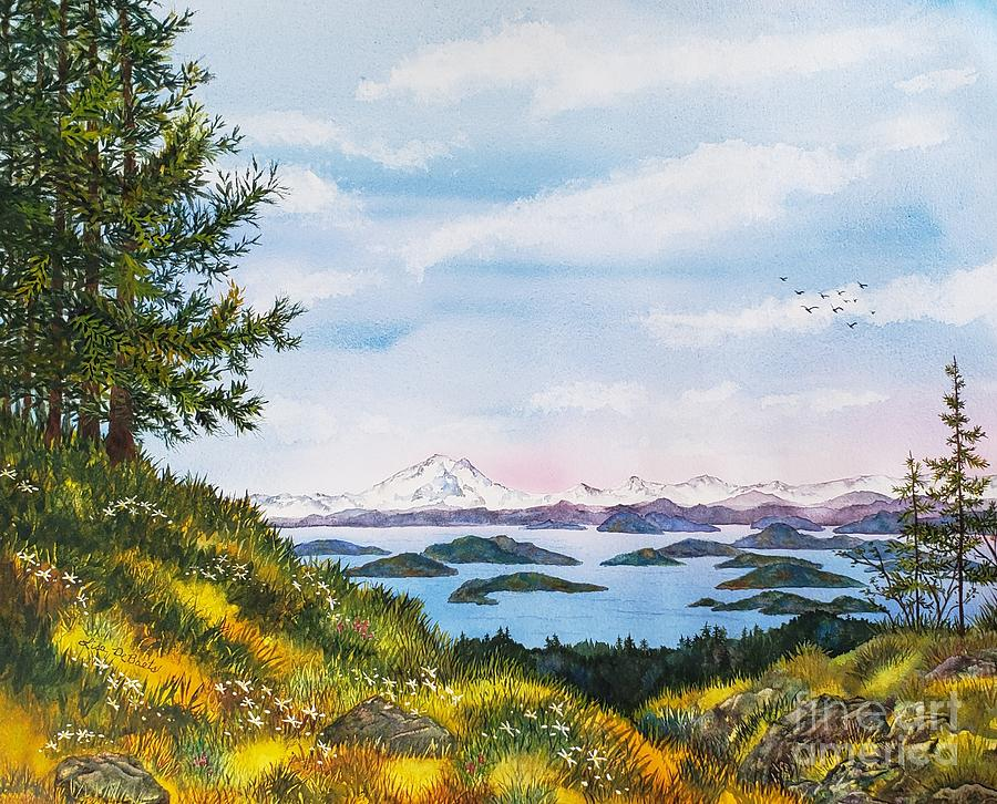 Island Morning by LISA DEBAETS