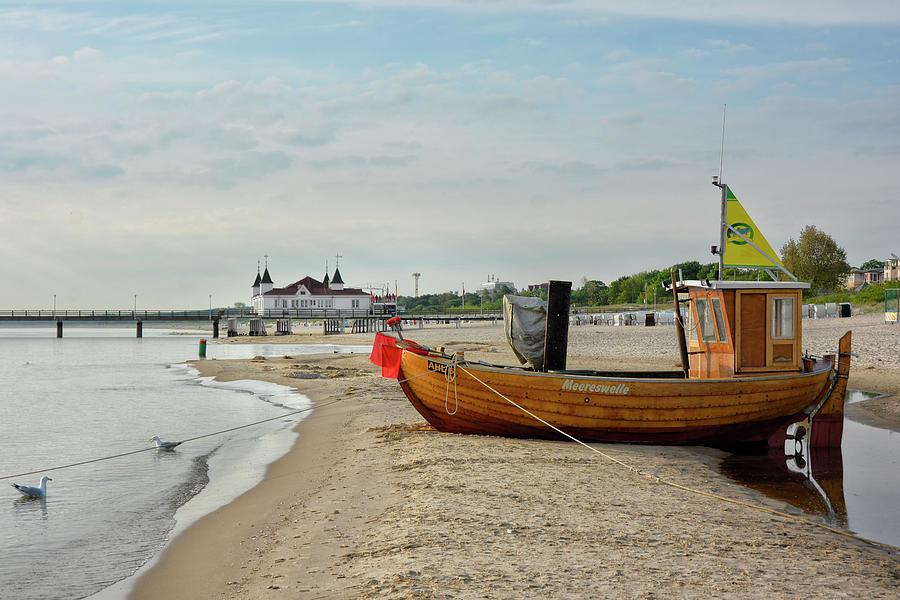 Island Of Usedom Ahlbeck Beach Photograph