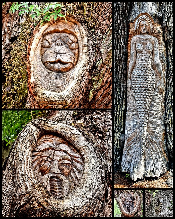 Island Tree Spirits by Kathy K McClellan