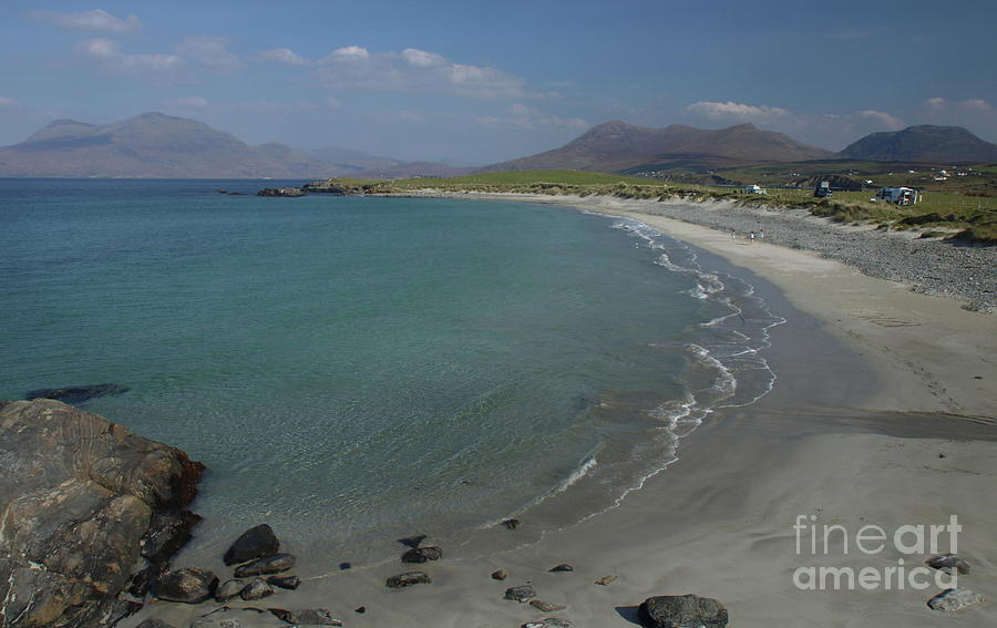 Island view Renvyle by Peter Skelton