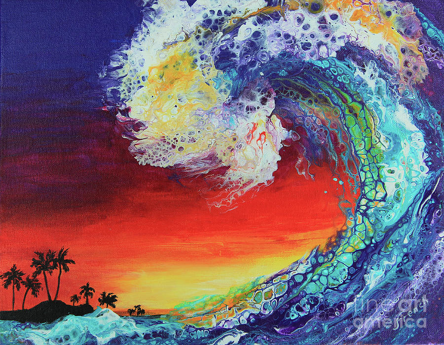 Island Wave by Jeanette French
