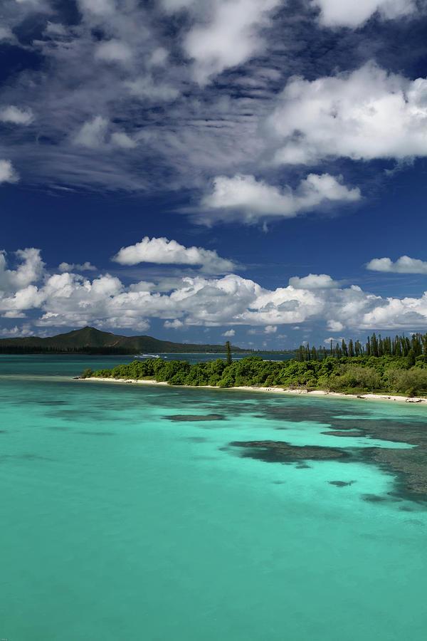 Islet Coral Lagoon Photograph by Mako Photo