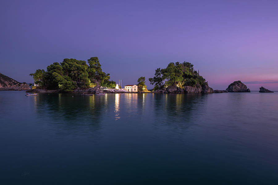 Islet Of Virgin Mary II Photograph
