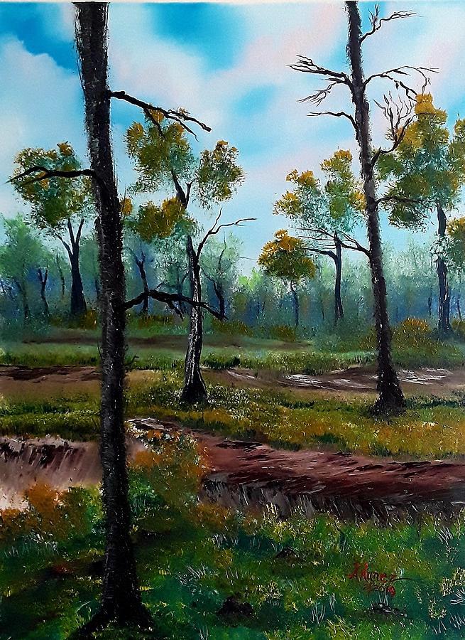 Isolated Woodland by Anthony Nunez