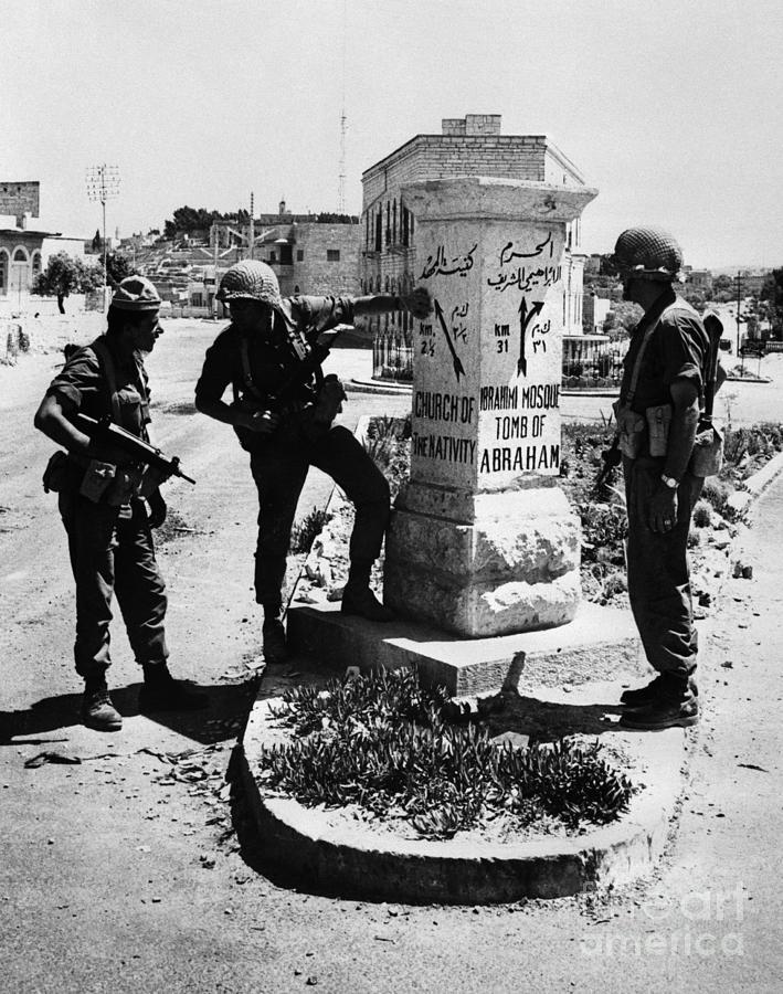 Israeli Soldiers Photograph by Bettmann