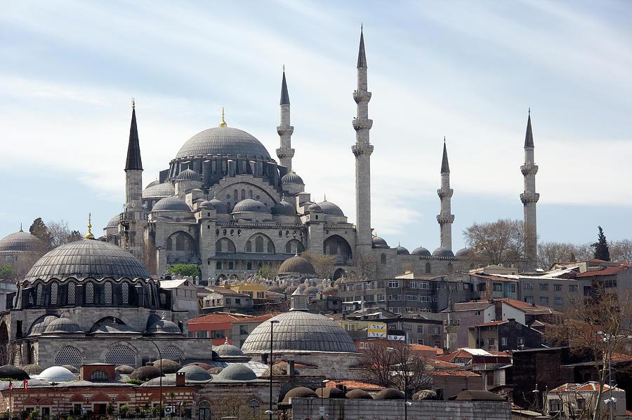 Istanbul In Turkey Photograph by Steve Allen