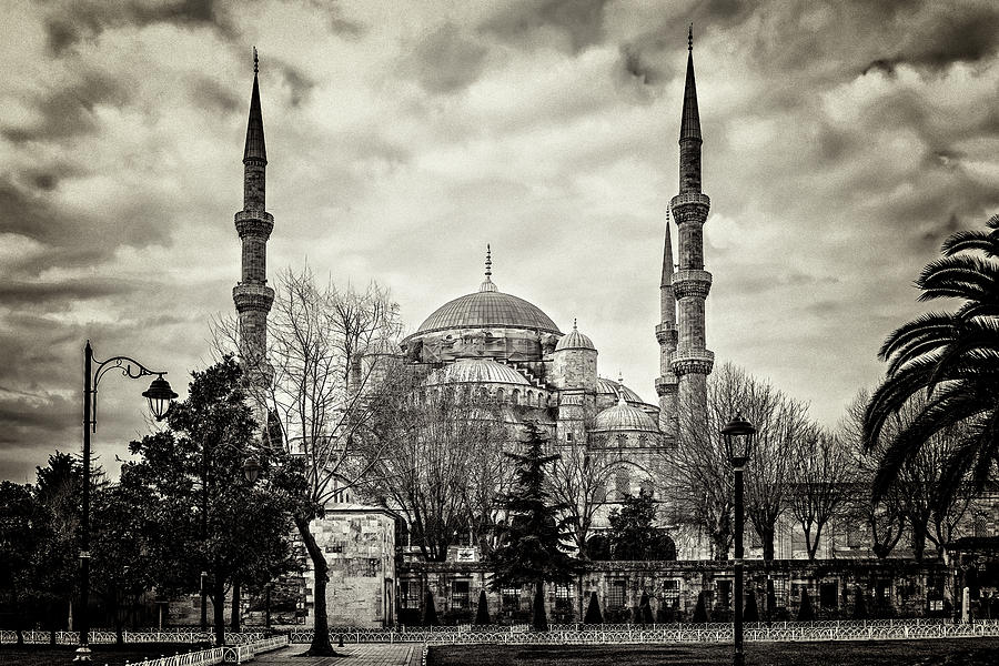 Istanbul Mosque by Maria Coulson