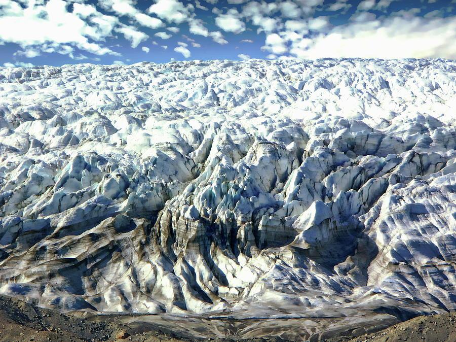 Isunnguata Sermia Glacier by Anthony Dezenzio