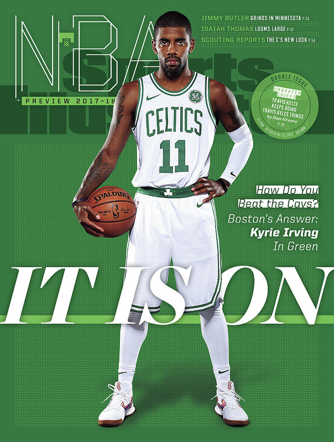 It Is On 2017-18 Nba Basketball Preview Sports Illustrated Cover Photograph by Sports Illustrated