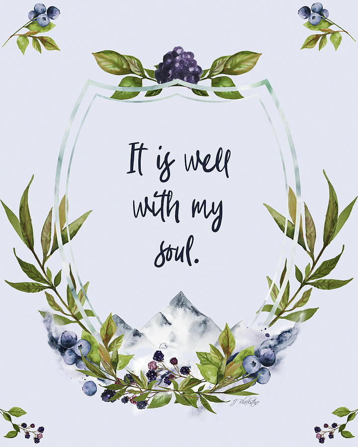 It Is Well With My Soul - Kindness by Jordan Blackstone