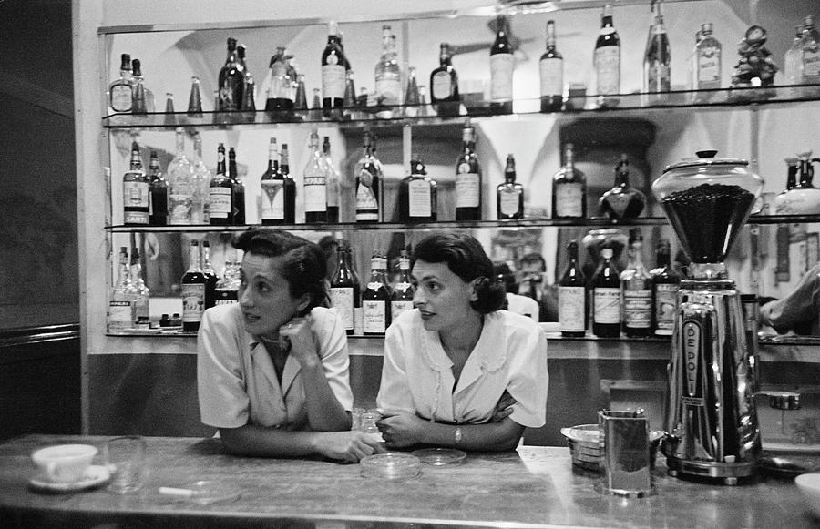 Italian Bar Photograph by Thurston Hopkins