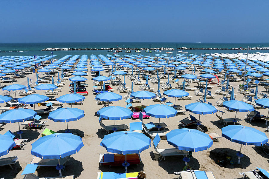 Italian Beach Photograph by Anzeletti