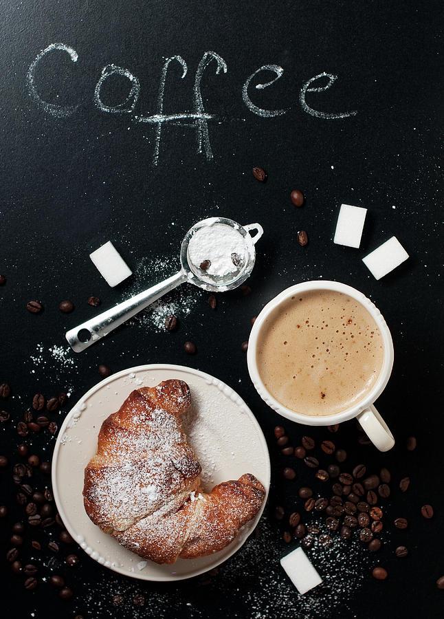 Italian Breakfast Photograph by Oxana Denezhkina