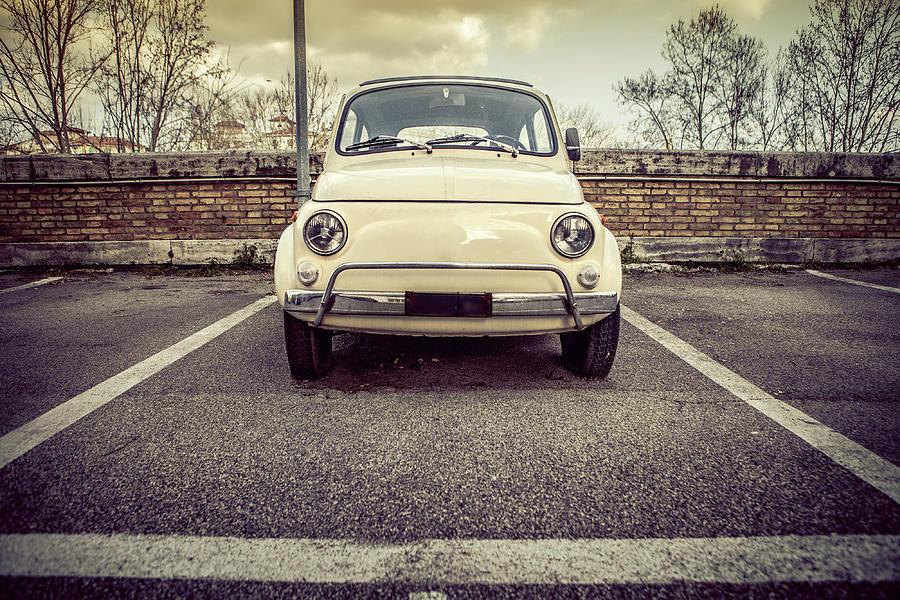 Italian Vintage Classic Car Photograph by Piola666
