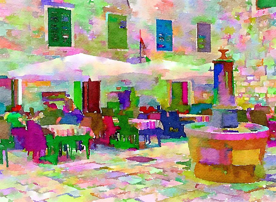 Italy- Dinning Out by Wade Binford