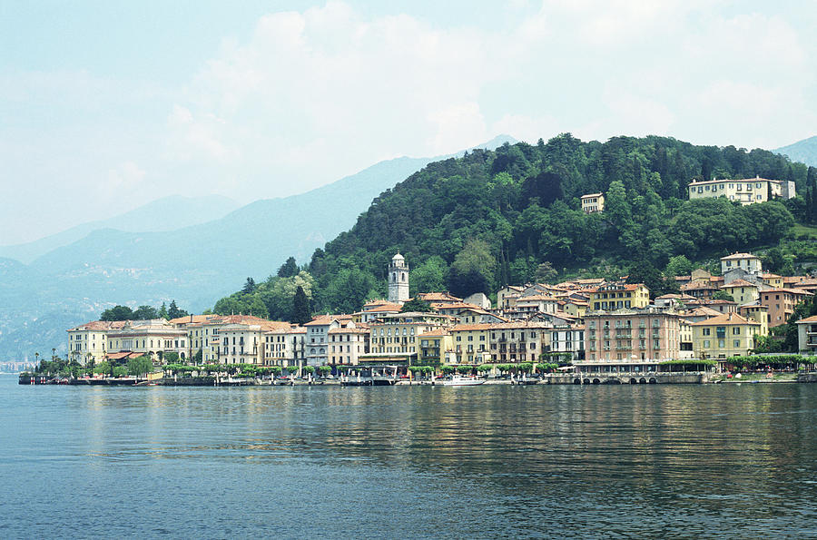 Italy, Lombardy, Bellagio On Lake Como Photograph by Andy Sotiriou