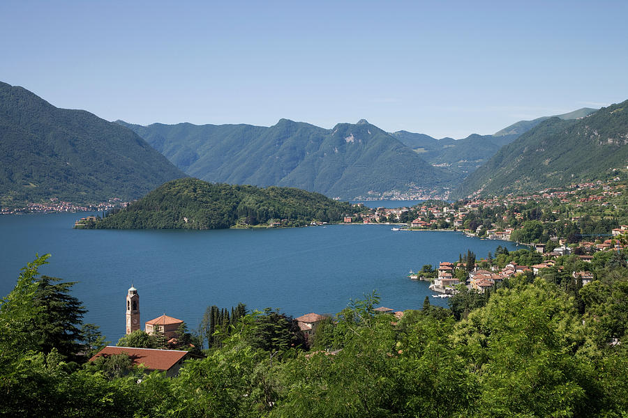 Italy, Lombardy, Lake Como Photograph by Buena Vista Images