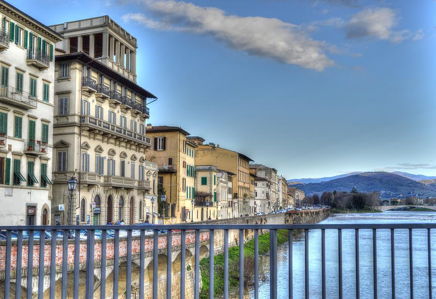 Italy River by Bill Hamilton