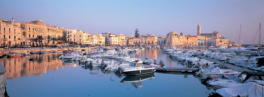 Italy, Trani, Puglia, Puglia Harbour Photograph by Peter Adams