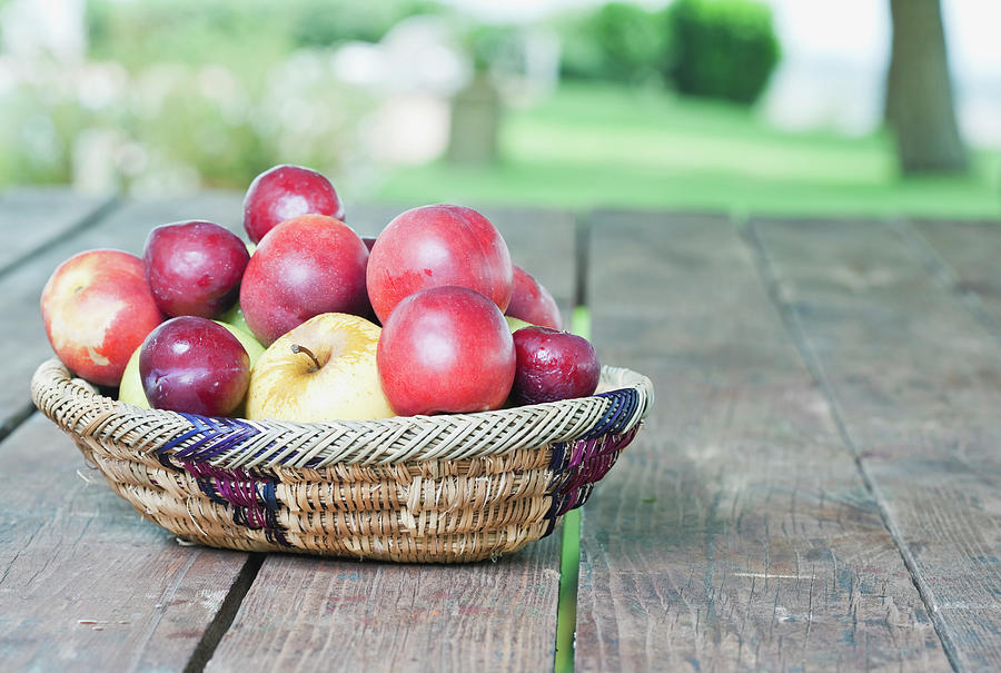 Italy, Tuscany, Magliano, Fruit Basket Photograph by Westend61