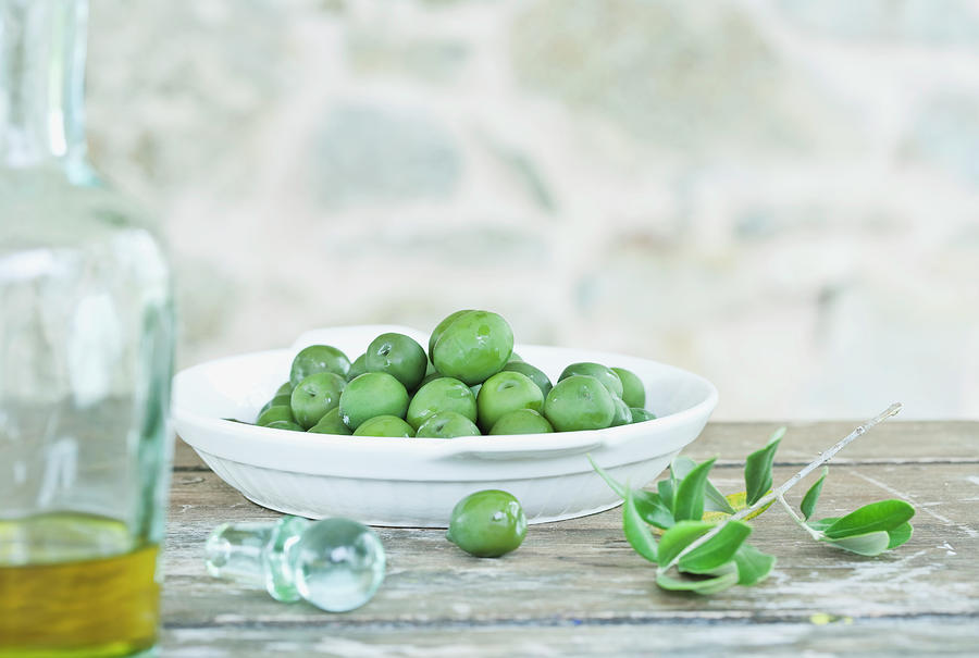 Italy, Tuscany, Magliano, Green Olives Photograph by Westend61