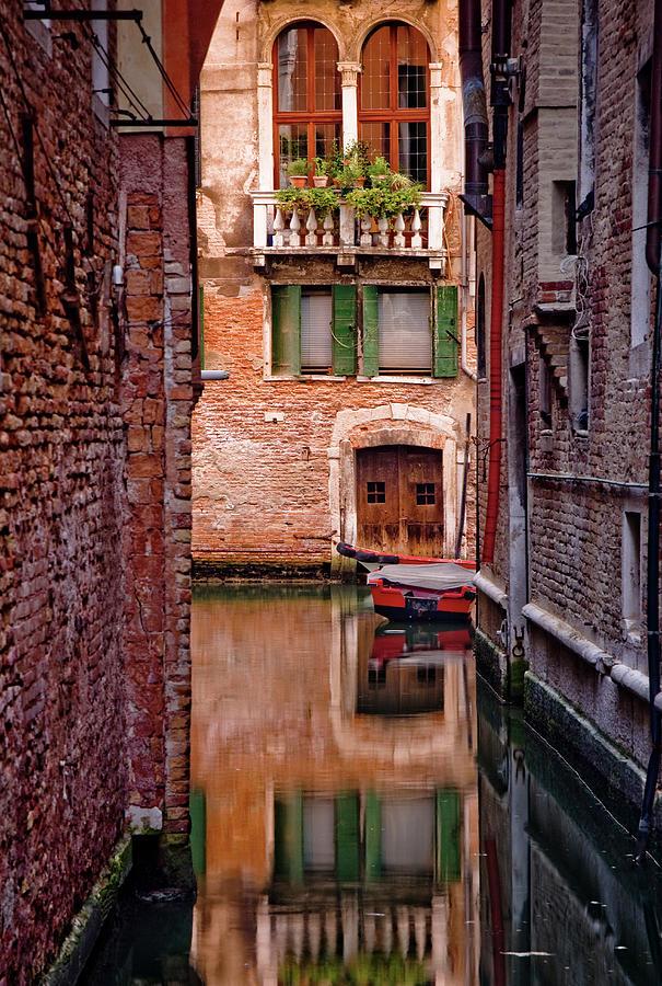 Italy, Veneto, Venice, Rio San Antonio Photograph by Slow Images