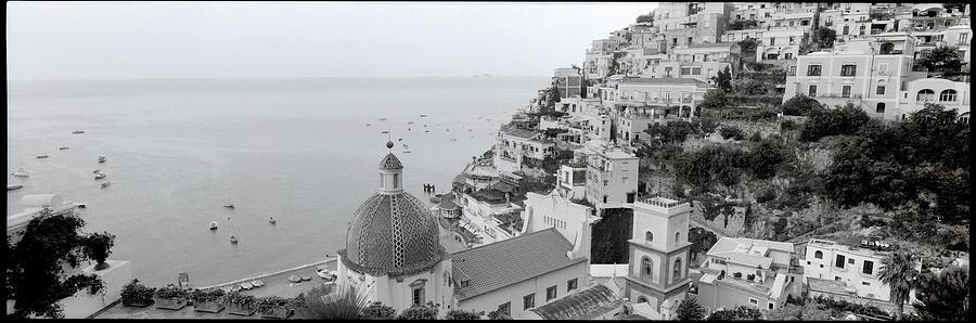Mediterranean Photograph - Ith97 - Positano I by Alan Blaustein