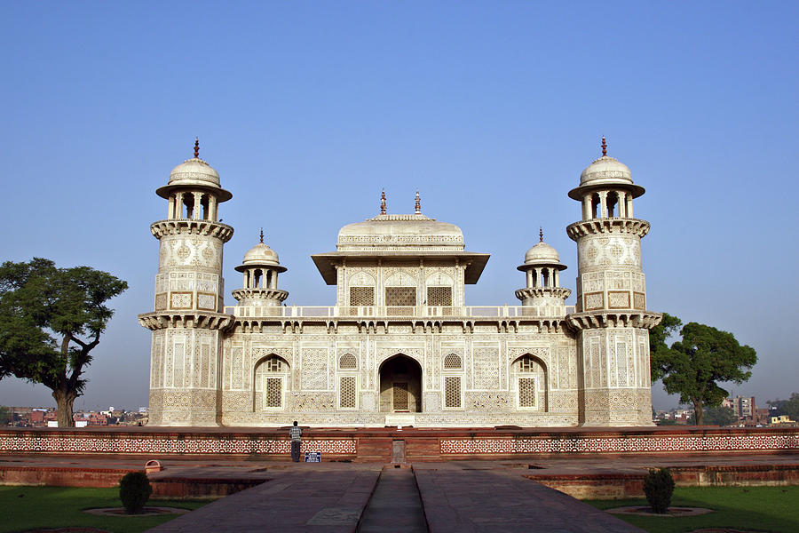 Itmad-ud-daulahs Tomb Photograph by Kelly Cheng Travel Photography