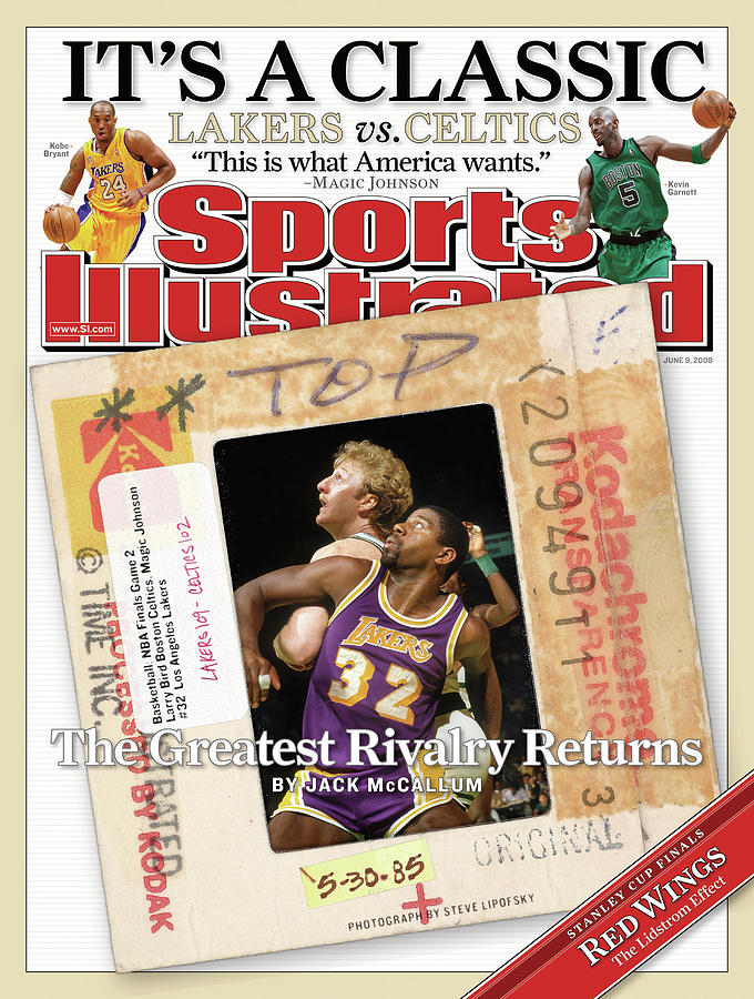 Its A Classic, Lakers Vs. Celtics The Greatest Rivalry Sports Illustrated Cover Photograph by Sports Illustrated