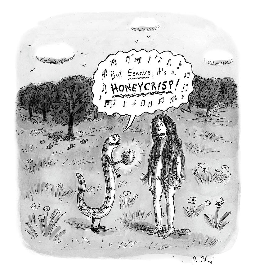 Its A Honeycrisp Drawing by Roz Chast