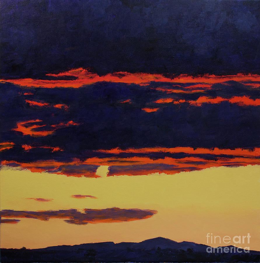 Contemporary Painting - Its Been A Good Day by Hilton McLaurin