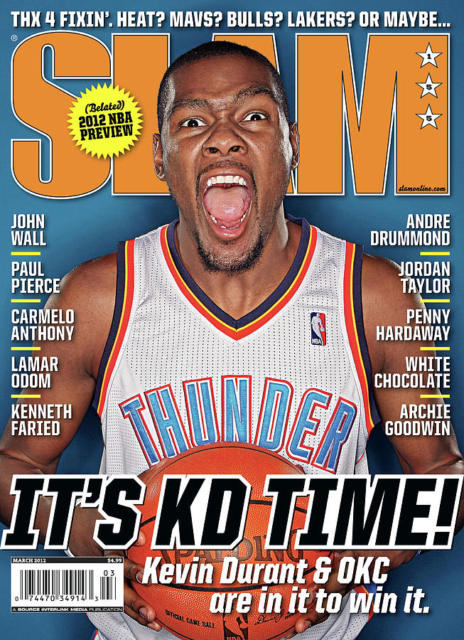 Its KD Time! SLAM Cover Photograph by Getty Images