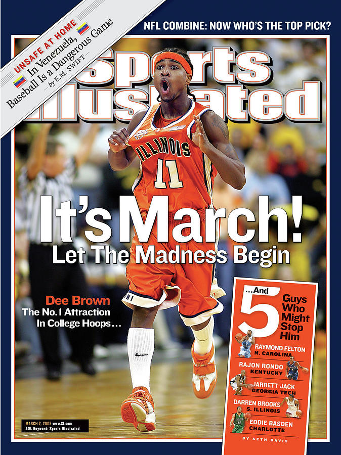 Its March Let The Madness Begin Sports Illustrated Cover Photograph by Sports Illustrated