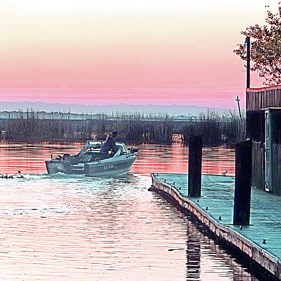 It's Morning - Time To Fish by Joseph Coulombe