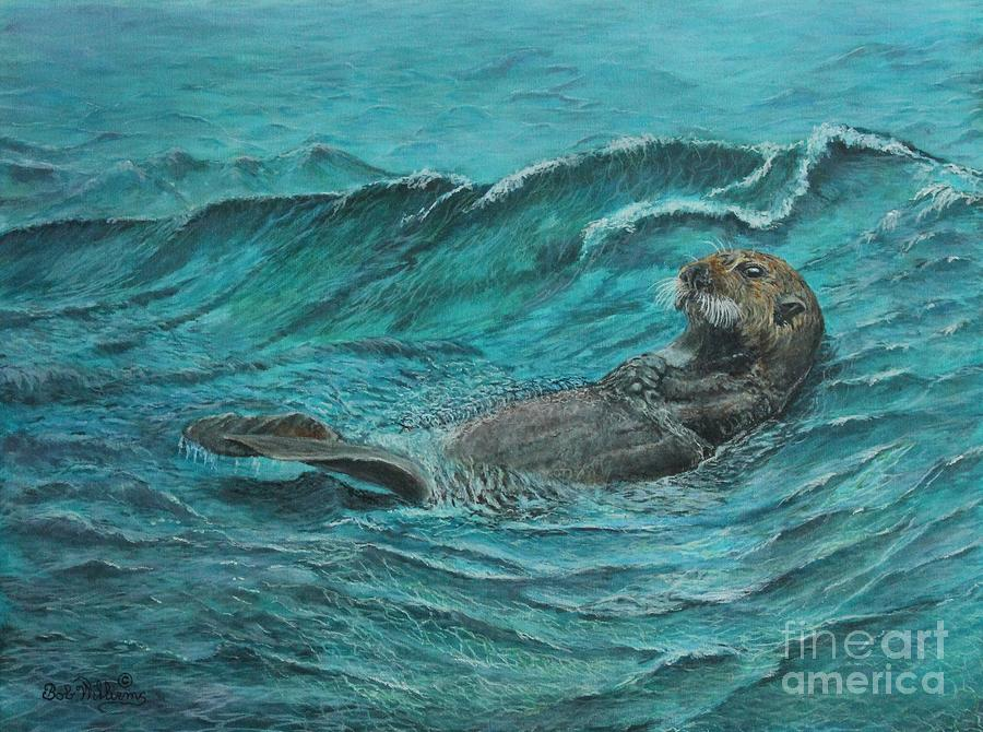 It's my Otter day off.....Sea Otter by Bob Williams