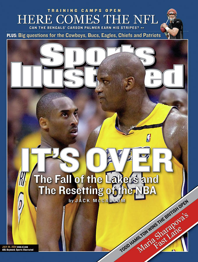 Its Over The Fall Of The Lakers And The Resetting Of The Nba Sports Illustrated Cover Photograph by Sports Illustrated