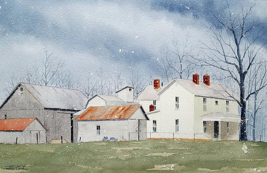 It's Snowing by Jim Gerkin